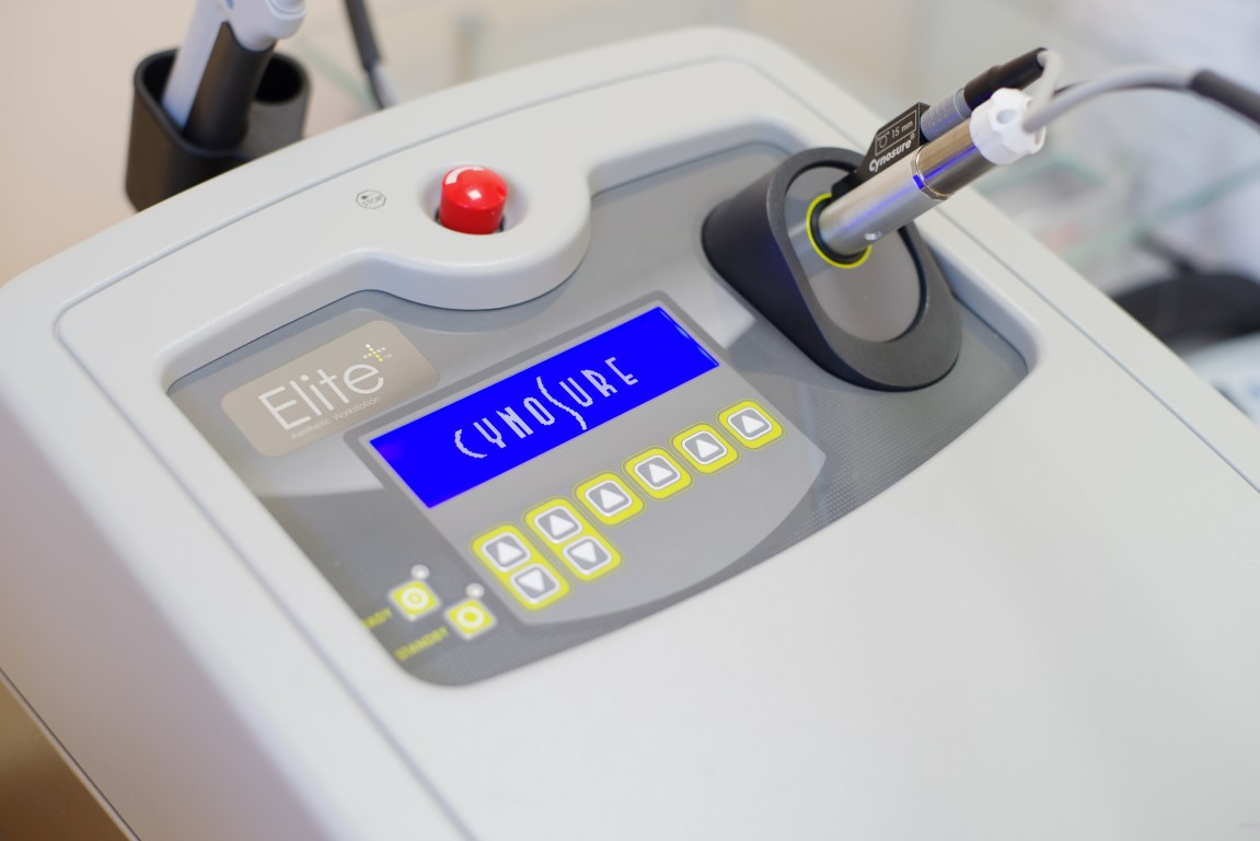 Derma Clinique LASER Cynosure Elite+